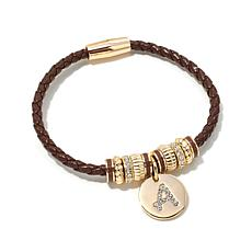 Real Collectibles by Adrienne® Initial Bracelet