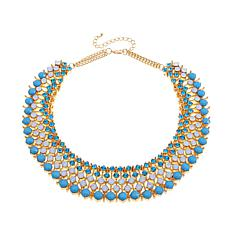 Real Collectibles by Adrienne® Wearable Jeweled Collar