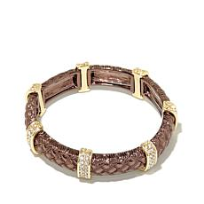 Real Collectibles by Adrienne®  Weave-Textured Bracelet