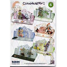 Reddy Creative Cards 3D Pre-Cut Circus Clowns - Easel Card Kit 1