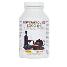 Resveratrol-100 EGCG-100 - 360 Capsules