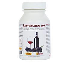 Resveratrol-200 - 30 Capsules