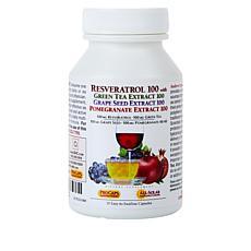 Resveratrol-Green Tea-Pomegranate - 30 Capsules