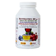 Resveratrol-Green Tea-Pomegranate - 360 Capsules