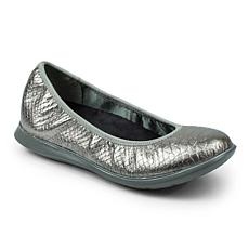 Revitalign Inca Full Grain Textured Leather Ballerina