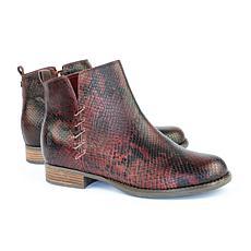 Revitalign Santiago Full Grain Textured Leather Boot