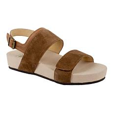 Revitalign Up Swell Adjustable Leather Sandal