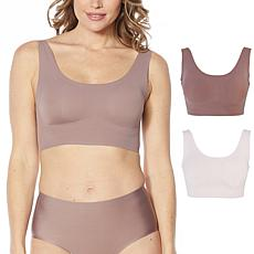 Rhonda Shear 2-pack Invisible Body Bra with Lift