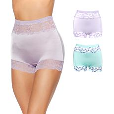 Rhonda Shear 2-pack Pin Up Panty Set