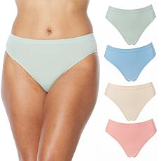 "Rhonda Shear ""Ahh"" Seamless Brief 4-pack"