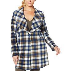 Rhonda Shear Fleece Wrap