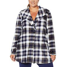 Rhonda Shear Fleece Wrap Jacket