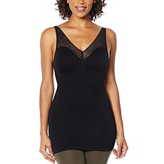 Rhonda Shear Lace Detail Tank with Removable Pads