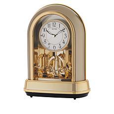 Rhythm Musical Motion Clock Dulcet II with Swarovski Crystal