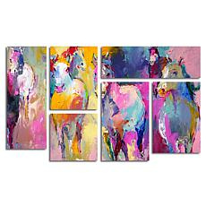 "Richard Wallich ""Wild"" Multi Panel Art Collection"