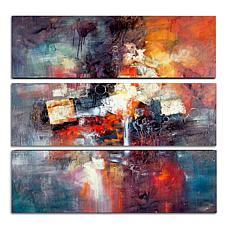 Rio 'Cube Abstract III' Multi-Panel Art Collection