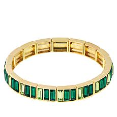 R.J. Graziano Crystal Baguette Stretch Bracelet