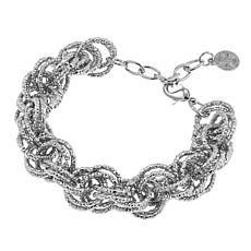 "R.J. Graziano ""Light the Way"" Circle Link Bracelet"