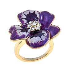 "Roberto by RFM ""Viola del Pensiero"" Flower Ring"