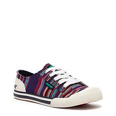 RocketDog Jazzin Cotton Lace Up Sneaker - Stripe