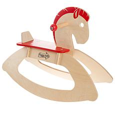 Rocking Horse Ride-on Toy for Children-Classic Wooden Rocker by Hap...