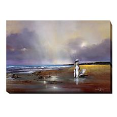 "Ron Di Scenza ""After the Rain"" Giclee Canvas Wall Art-M"