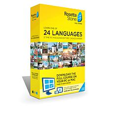 Rosetta Stone Language System Lifetime License on PC and Mac