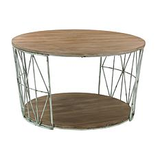 Round Farmhouse Coffee Table