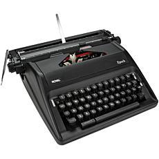 Royal Epoch Manual Typewriter - Black