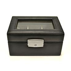 Royce Leather 3 Slot Watch Box