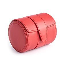 Royce Leather Single Watch Roll Travel Case