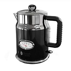 Russell Hobbs Retro-Style 1.7L Electric Kettle - Black