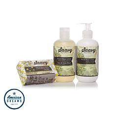 Saavy Naturals Yuzu & Meyer Lemon 3-piece Set