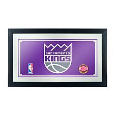 Sacramento Kings NBA Framed Logo Mirror