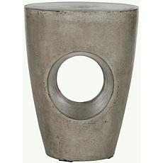 Safavieh Aishi Concrete Accent Table - Gray