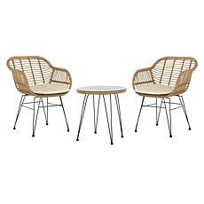 Safavieh Alton 3-piece Lounge Set