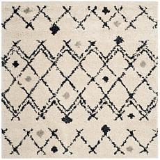"""Safavieh Berber Shag Farida Rug - 5'1"""" x 5'1"""" Square"""