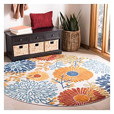 "Safavieh Cabana Gabriel 6'-7"" Round Indoor/Outdoor Rug"