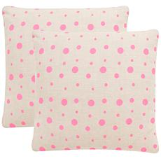 "Safavieh Candy Buttons 20"" x 20"" Pillow"