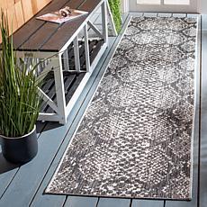 "Safavieh Courtyard Aurora 2'-2"" X 9' Indoor/Outdoor Rug"
