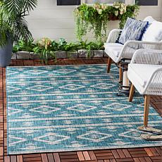 "Safavieh Courtyard Freya 5'-3"" X 7'-7"" Indoor/Outdoor Rug"