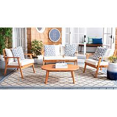 Safavieh Deacon 4-Piece Living Set