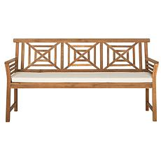Safavieh Del Mar 3-Seat Bench