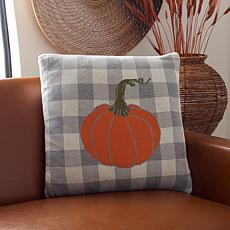 """Safavieh Fall Pumpkin 20"""" x 20"""" Pillow"""