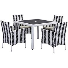 Safavieh Frazier 5-piece Outdoor Living Set