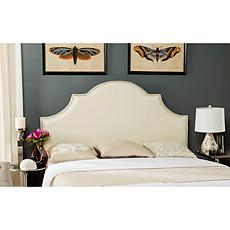 Safavieh Hallmar Leather Arched Headboard - King