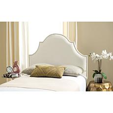 Safavieh Hallmar Leather Arched Headboard - Twin