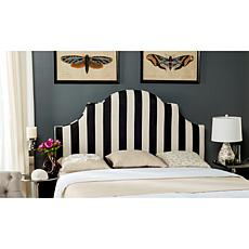 Safavieh Hallmar Linen-Blend Arched Headboard - Queen