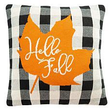 "Safavieh Hello Leaf 18"" x 18"" Pillow"