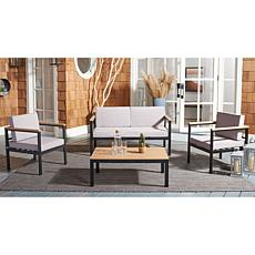 Safavieh Hendor 4-Piece Living Set